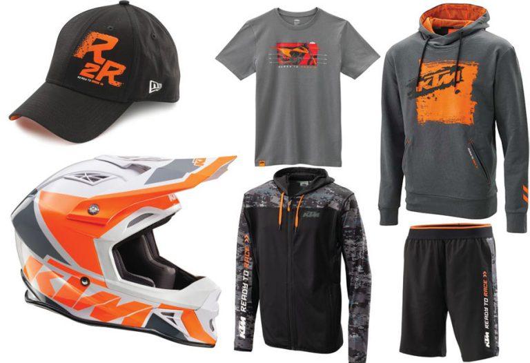 KTM Kläder och utrustning